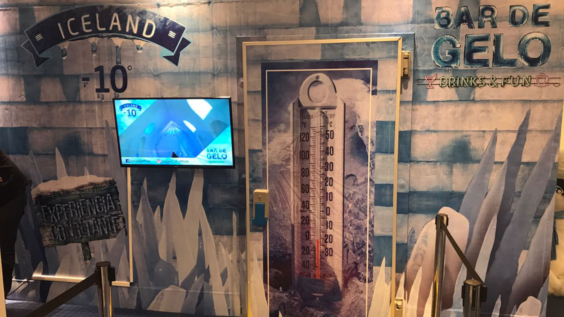 Bar de Gelo BarraShopping® Rio de Janeiro